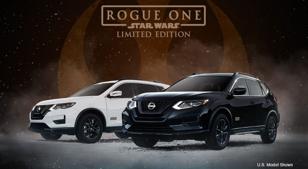 Nissan Rogue Star Wars Rogue One Limited Edition.JPG