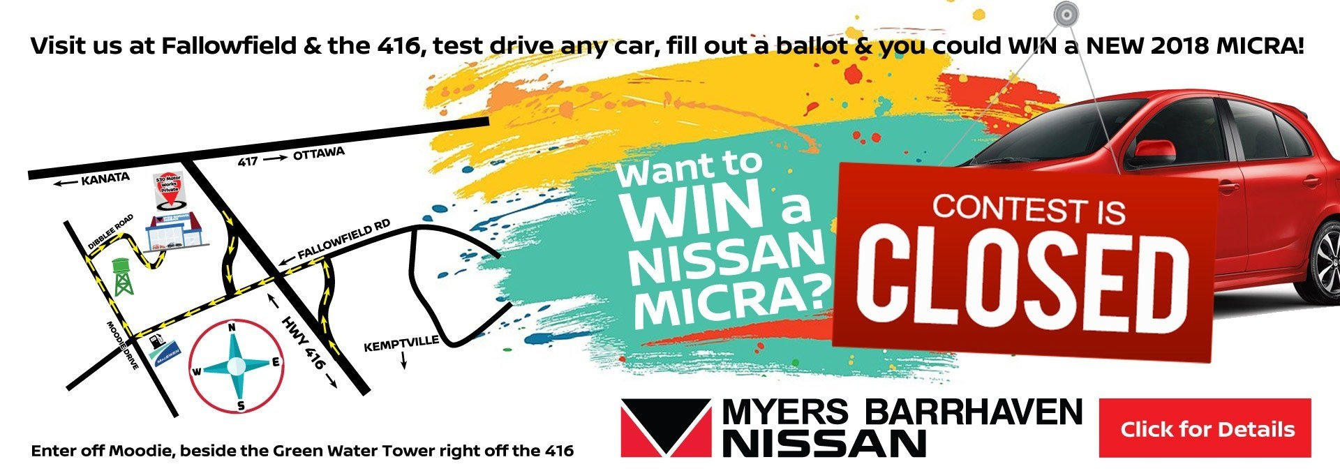 micra giveaway