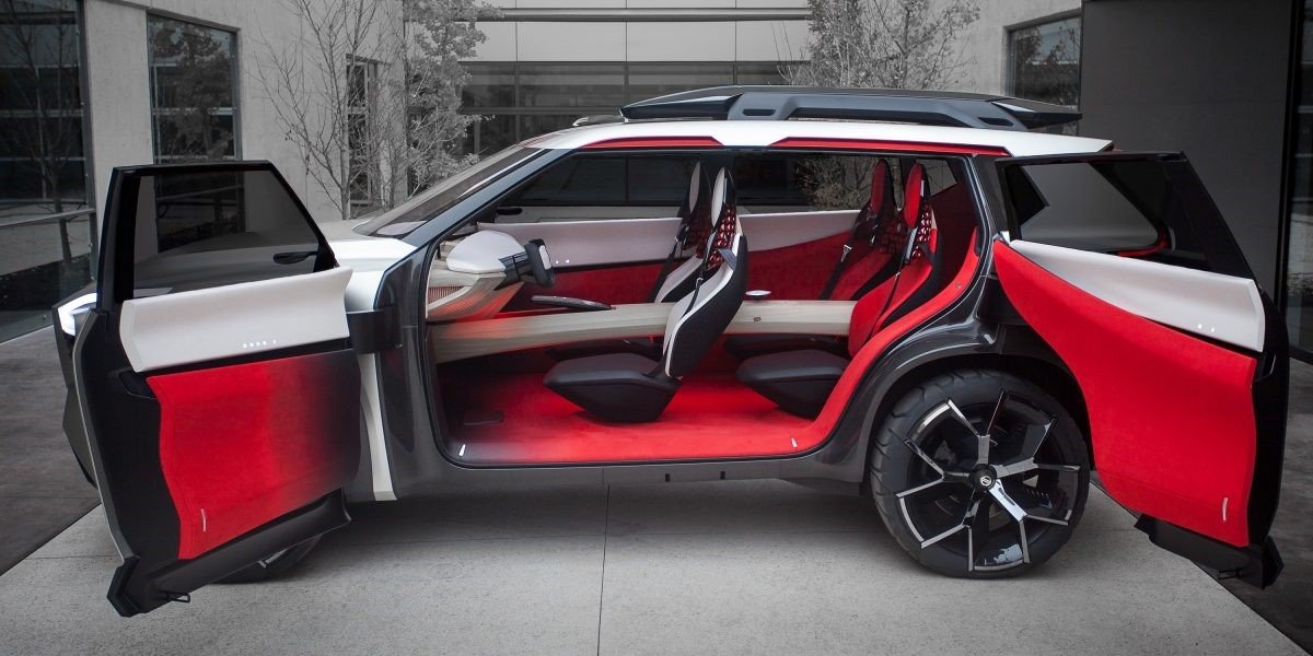 Nissan X-Motion Concept Interior