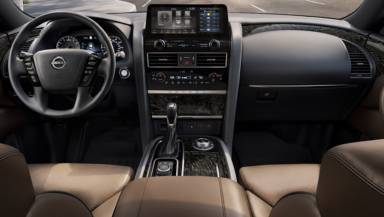 2021 Nissan Armada Infotainment