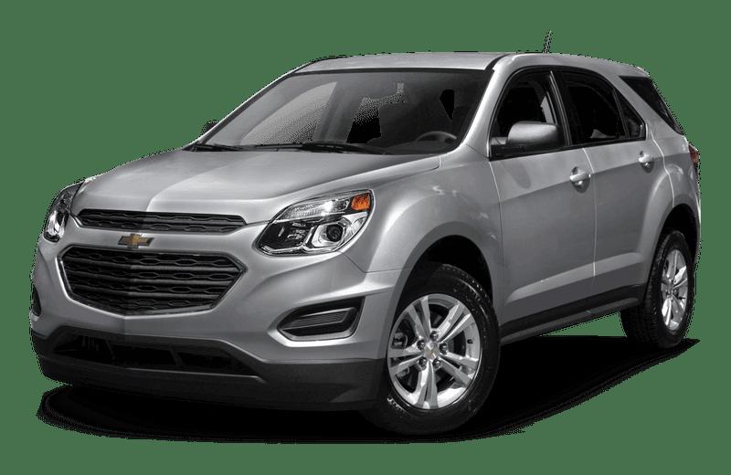 A gray Chevrolet Equinox