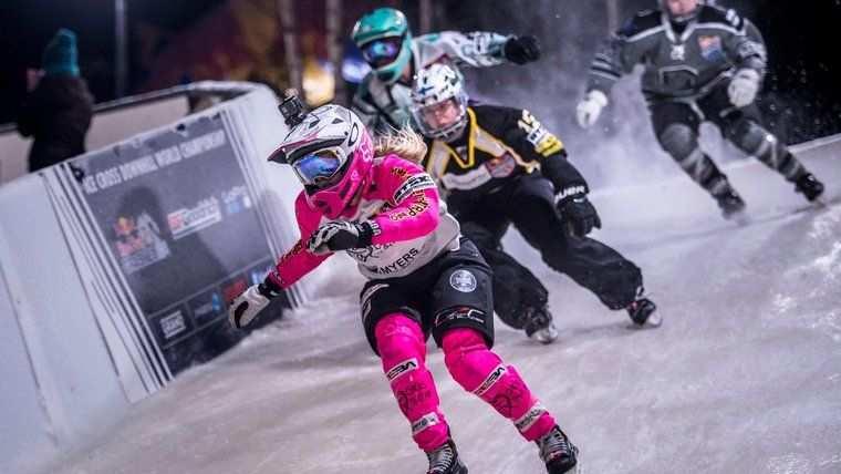 Jacqueline Legere RedBull Crashed Ice 3