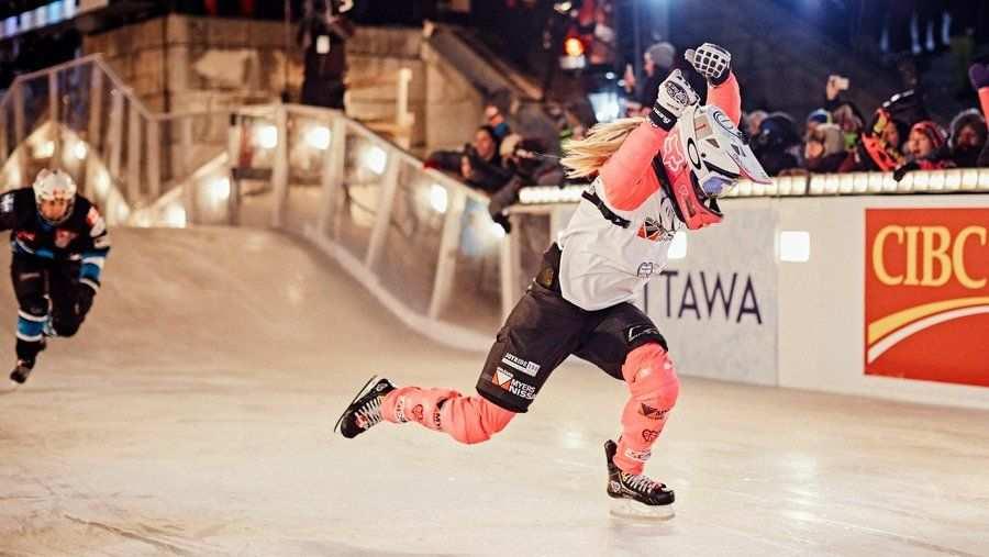 Redbull Crashed Ice Finals J Legere
