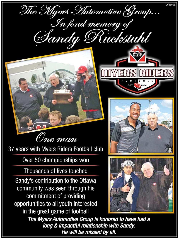 Sandy Ruckstuhl Tribute