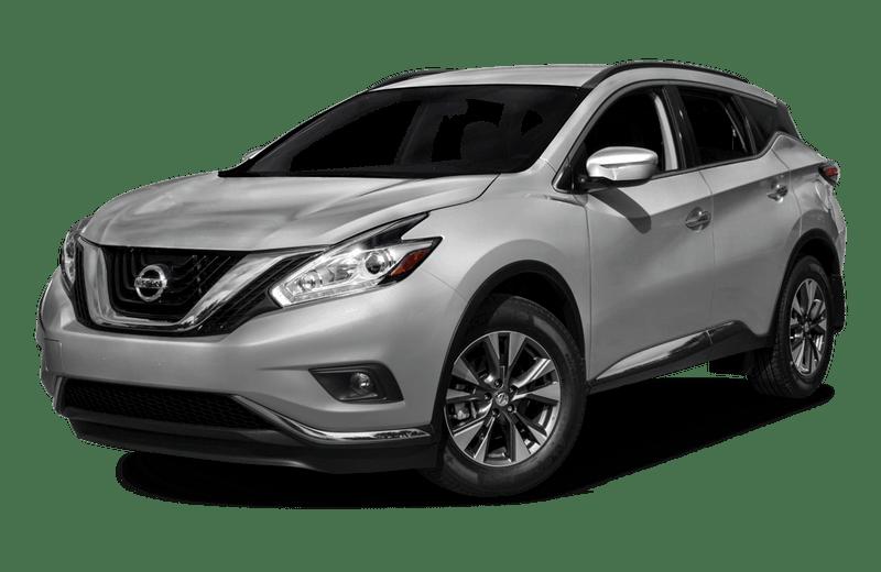 A gray Nissan Murano