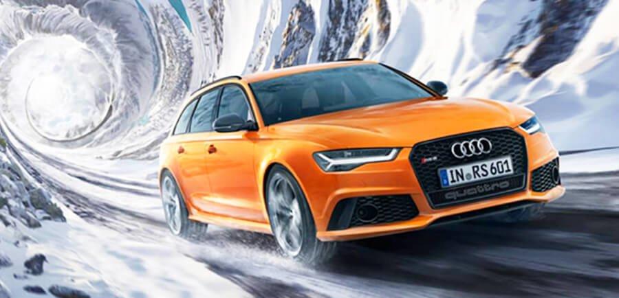 Audi winter tire advantage