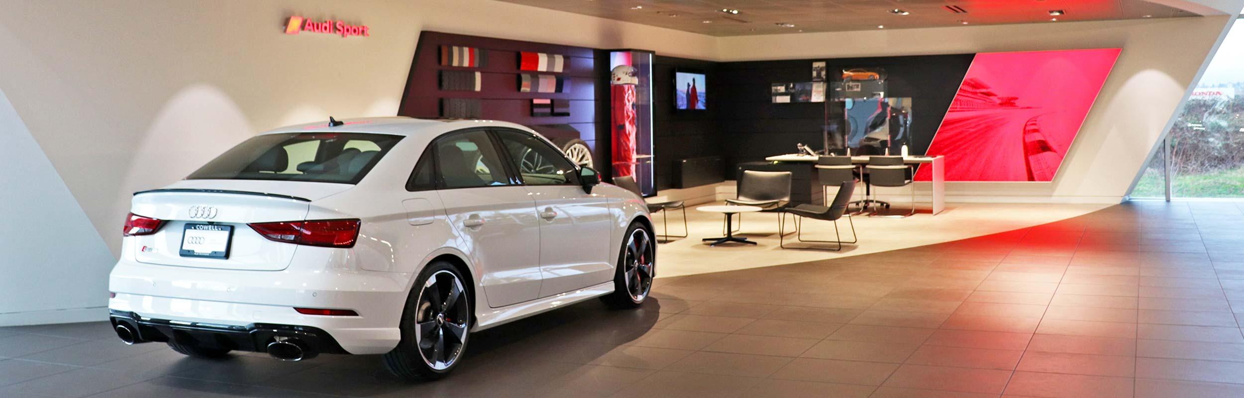 Audi Sport Showroom at Audi Richmond