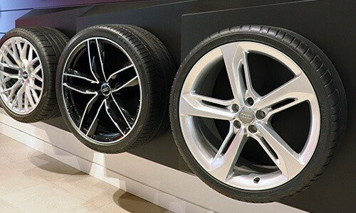 Audi Sport Showroom Tires at Audi Richmond