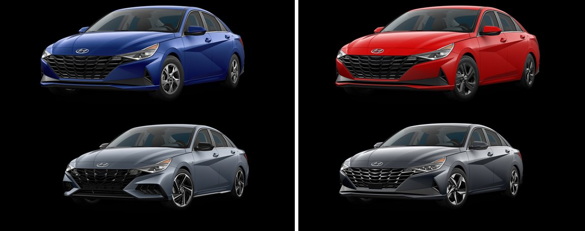 2021 Hyundai Elantra Models