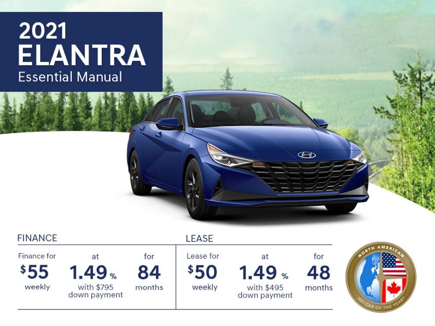 2021 Hyundai Elantra Promotion