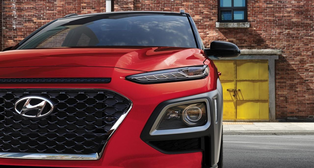 2021 Hyundai Kona Red Exterior 3