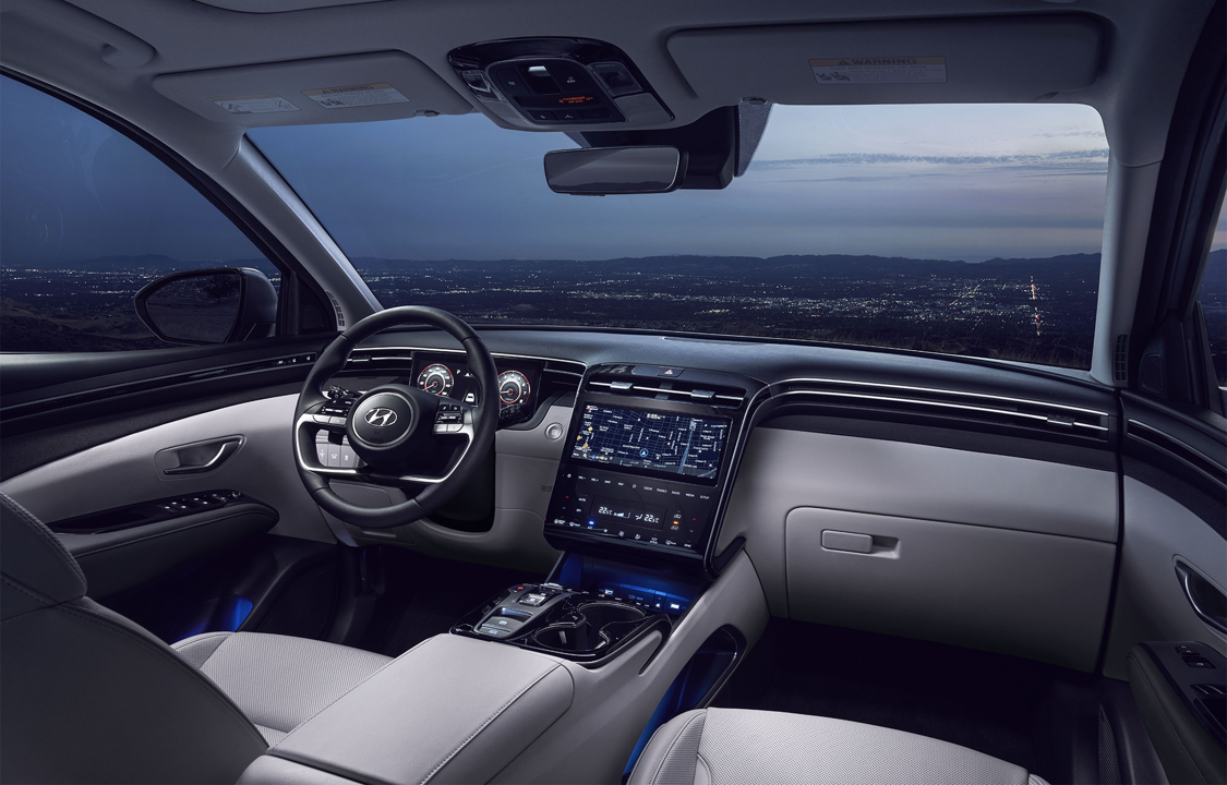 2022 Tucson Interior and technology