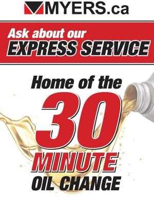Myers Barrhaven Toyota Express Service