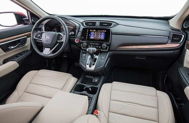 2019 honda cr-v interior dashboard