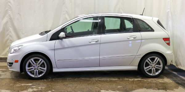 Used 2009 Mercedes-Benz B200 Turbo Exterior Driver Side Profile