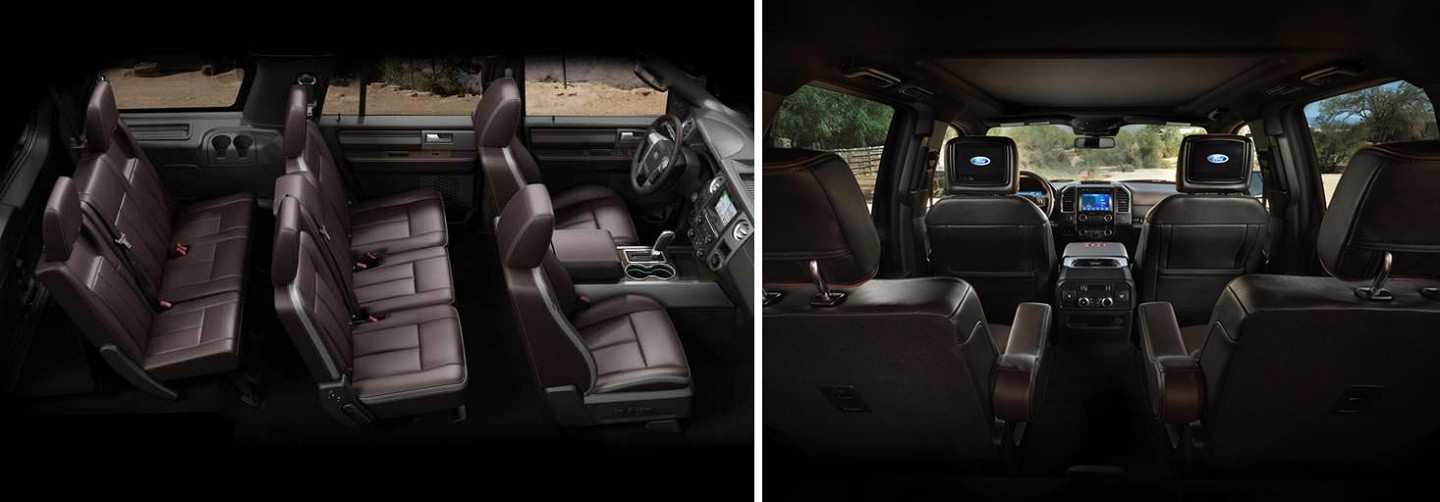2020 Ford Expedition Spacious Interior and seating