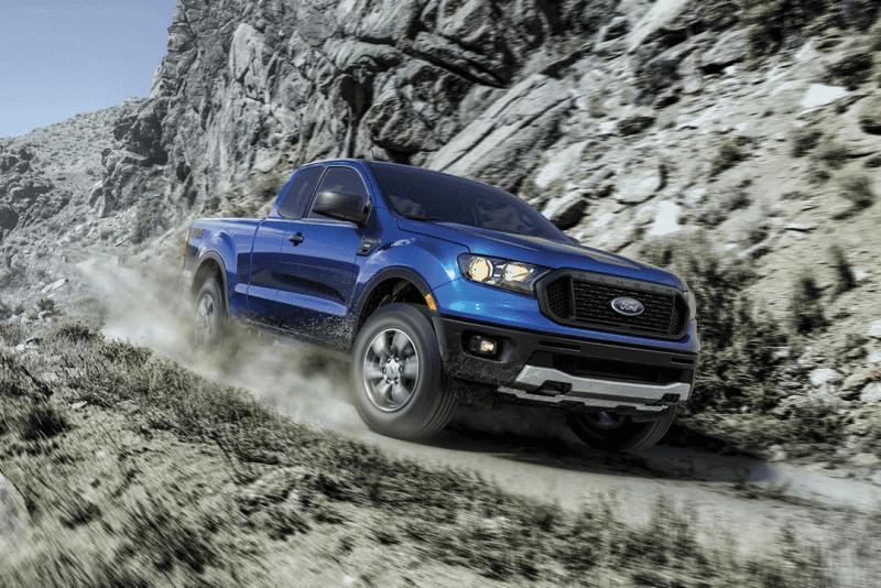 2020 Ford Ranger Blue