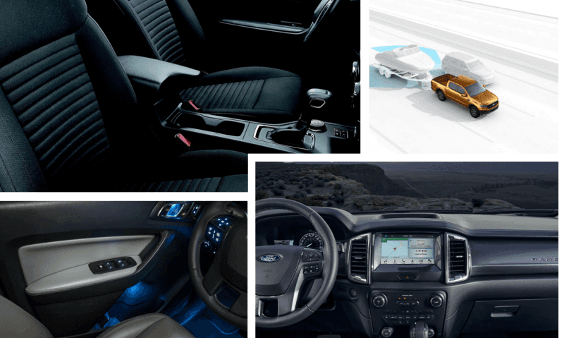 2020 Ford Ranger Infotainment and Tech