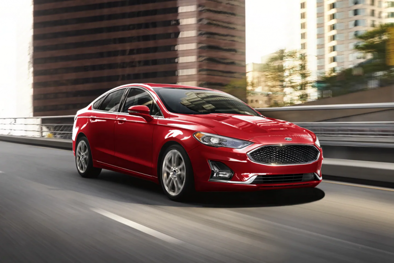 2020 Ford Fusion Red Exterior